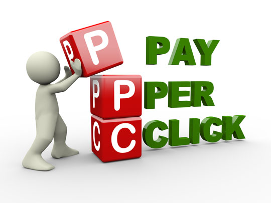 pay-per-click illustration